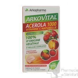 ACEROLA 1000 30 COMPRIMES