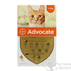 ADVOCATE SPOT ON CHAT Petit Chat