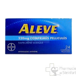 ALEVE 220 MG 24 COMPRIMES