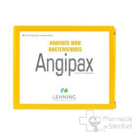 ANGIPAX  ANGINE LEHNING  40 COMPRIMES ORODISPERSIBLE