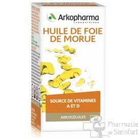 ARKOGELULES HUILE FOIE DE MORUE 60 CAPSULES