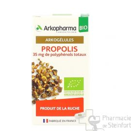 ARKOGELULES PROPOLIS BIO 40 CAPSULES