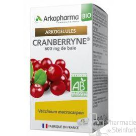 ARKOGELULES CRANBERRYNE BIO Confort urinaire 150 GELULES