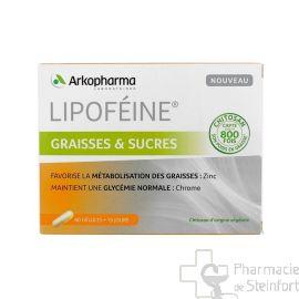 LIPOFEINE GRAISSES ET SUCRES 60 CAPSULES