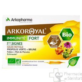 ARKOROYAL IMMUNITE FORT BIO 20 AMPOULES X 10ML