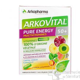 ARKOVITAL PURE ENERGIE 50+ 60 Gelules