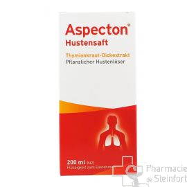 ASPECTON HUSTENSAFT  Thym 200 ML