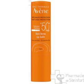 AVENE SOLAIRE STICK LÈVRES SPF 50+ 3 G