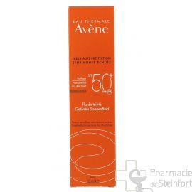 AVENE SOLAIRE SPF50+ FLUIDE TEINTE 50 ML