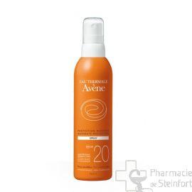 AVENE SOLAIRE SPRAY SPF20+ 200 ML