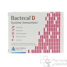 BACTECAL Probiotical D 20 Capsules