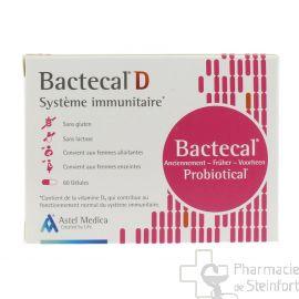 BACTECAL Probiotical D 60 Capsules