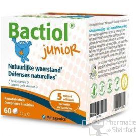 BACTIOL JUNIOR 60 COMPRIMES A MACHER