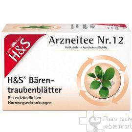 H+S FEUILLES DE BUSSEROLE  20 SACHETS NR12