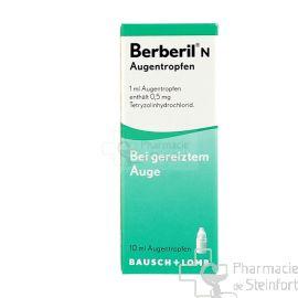 BERBERIL N COLLYRE 10 ML