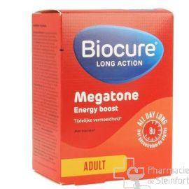 BIOCURE LA MEGATONE ENERGY BOOST Longue Action 60 COMPRIMES