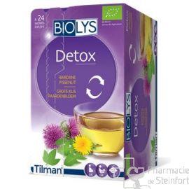 BIOLYS BARDANE-PISSENLIT Detox BIO 24 SACHETS