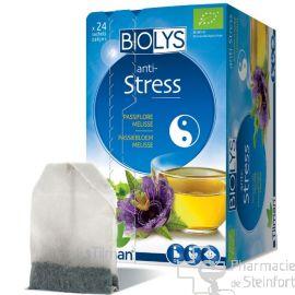 BIOLYS PASSIFLORE MELISSE Stress 24 SACHETS