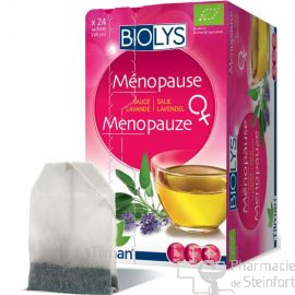 BIOLYS SAUGE-LAVANDE Menopause 24 SACHETS (EQUILIBRE FEMME)