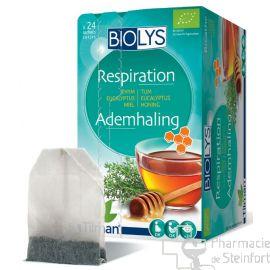 BIOLYS THYM EUCALYPTUS MIEL Respiration BIO 24 SACHETS