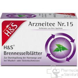 H+S Brennesselkraut FEUILLES D'ORTIE 20 SACHETS N °15