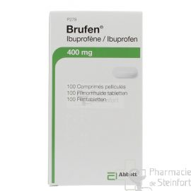 BRUFEN 400 MG 100 DRAGEES