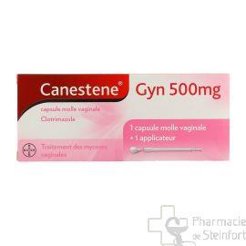 CANESTENE GYN 500 MG 1 CAPSULE VAGINALE+  APPLICATEUR