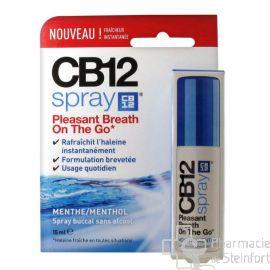CB12 MOUTH SPRAY une haleine fraîche menthe 15ml