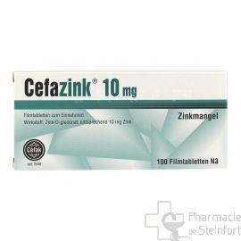 CEFAZINK 10 MG 100 Comprimés