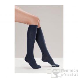 CHAUSSETTES DE CONTENTION (FEMME) VENOFLEX FAST® COTON CLASSE 2 Taille2 Normal JEAN
