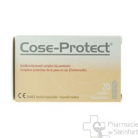 COSE PROTECT 20 SUPPOSITOIRES