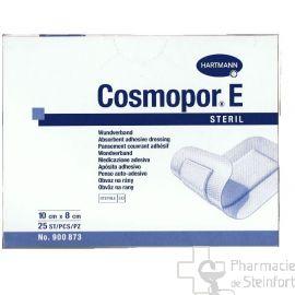 COSMOPOR E PANSEMENT COUVRANT ADHESIF STERILE 10 X 8 CM 25 PANSEMENTS