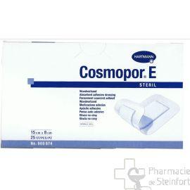 COSMOPOR E PANSEMENT COUVRANT ADHESIF STERILE 15 X 8 CM 25 PANSEMENTS