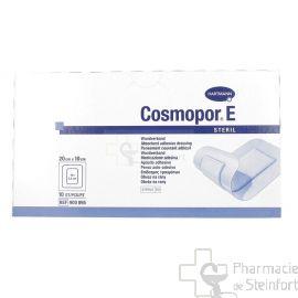 COSMOPOR E PANSEMENT COUVRANT ADHESIF STERILE 20 X 10 CM 10 PANSEMENTS