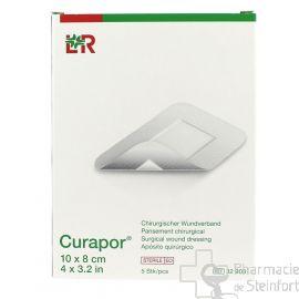 CURAPOR STERILE 10x8 CM  5 PANSEMENTS