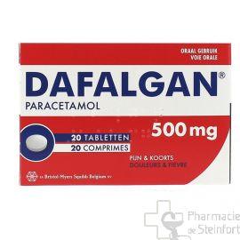 DAFALGAN 500 MG 20 Comprimés