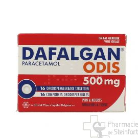 DAFALGAN ODIS 500 MG 16 COMPRIMES