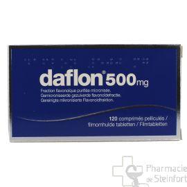 DAFLON 500 MG 120 COMPRIMES