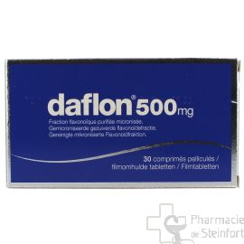 DAFLON 500 MG 30 COMPRIMES