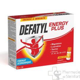 DEFATYL ENERGY PLUS 14 X 15 FLACONS