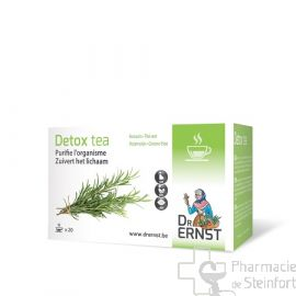 DR ERNST DETOX TEA PURIFIE ORGANISME 20 INFUSIONS