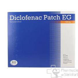 DICLOFENAC PATCH Voltaren EG 140 MG 10 EMPLATRES