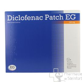 DICLOFENAC PATCH Voltaren EG 140 MG 5 EMPLATRES