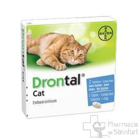 DRONTAL CAT 2 COMPRIMES