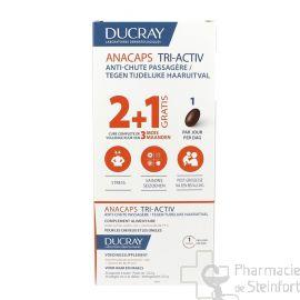 DUCRAY ANACAPS TRI-ACTIV CHEVEUX ANTI CHUTE 3x 30 capsules