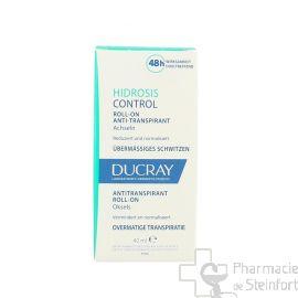 DUCRAY HIDROSIS CONTROL Anti Transpirant ROLL-ON 40 ML