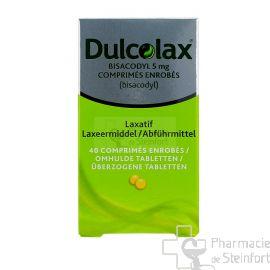 DULCOLAX BISACODYL 5 MG 40 DRAGEES