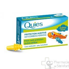 QUIES PROTECTION AUDITIVE SPECIAL AVION ENFANT 1 PAIRE