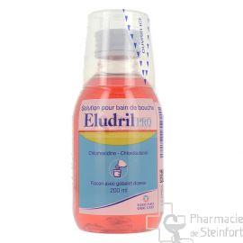 ELUDRIL PRO BAIN BOUCHE 200 ML