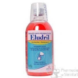 ELUDRIL PRO BAIN BOUCHE 500 ML PET